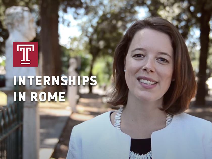 Internships at Temple Rome