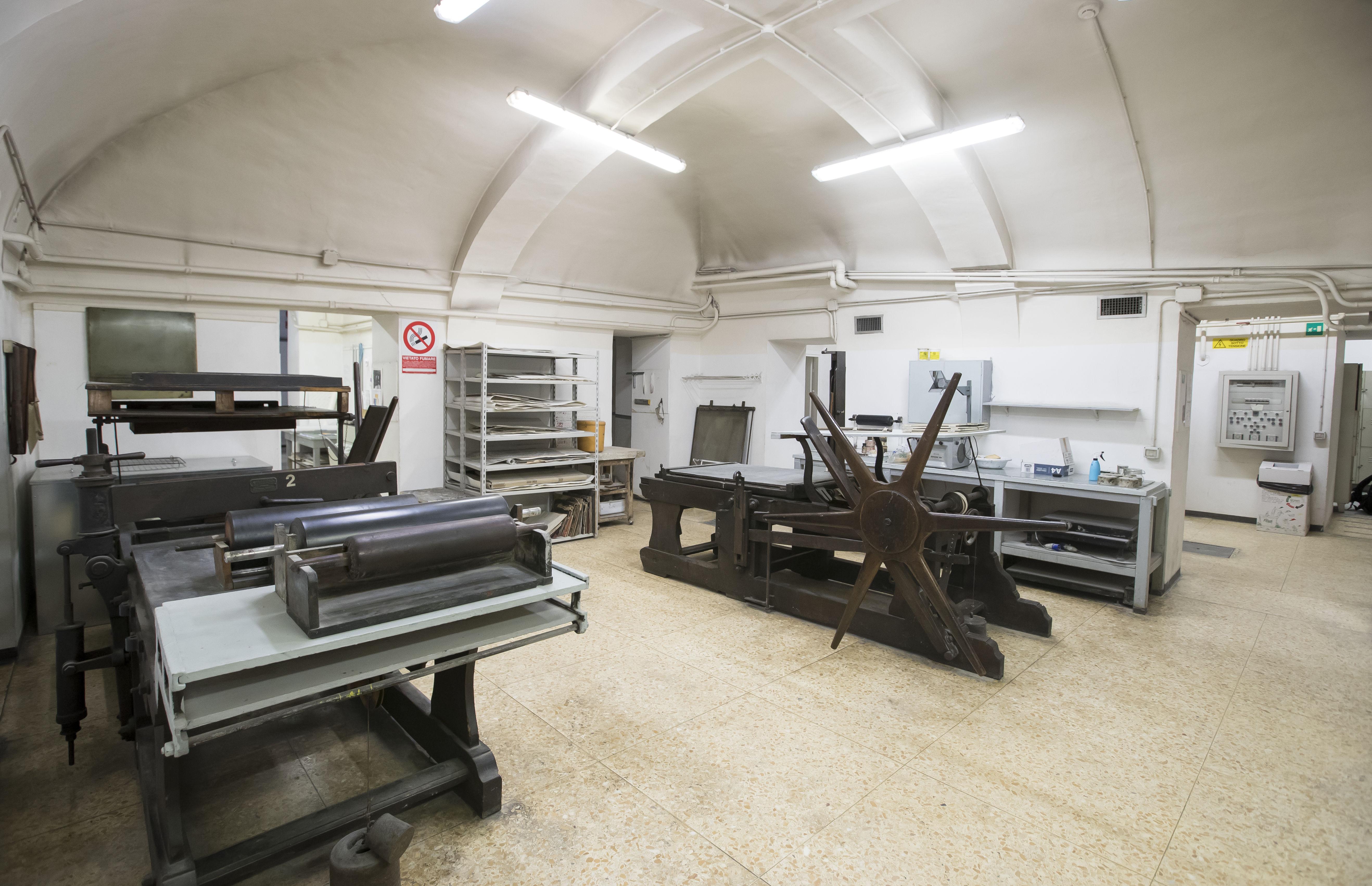 Temple Rome Printmaking Studio