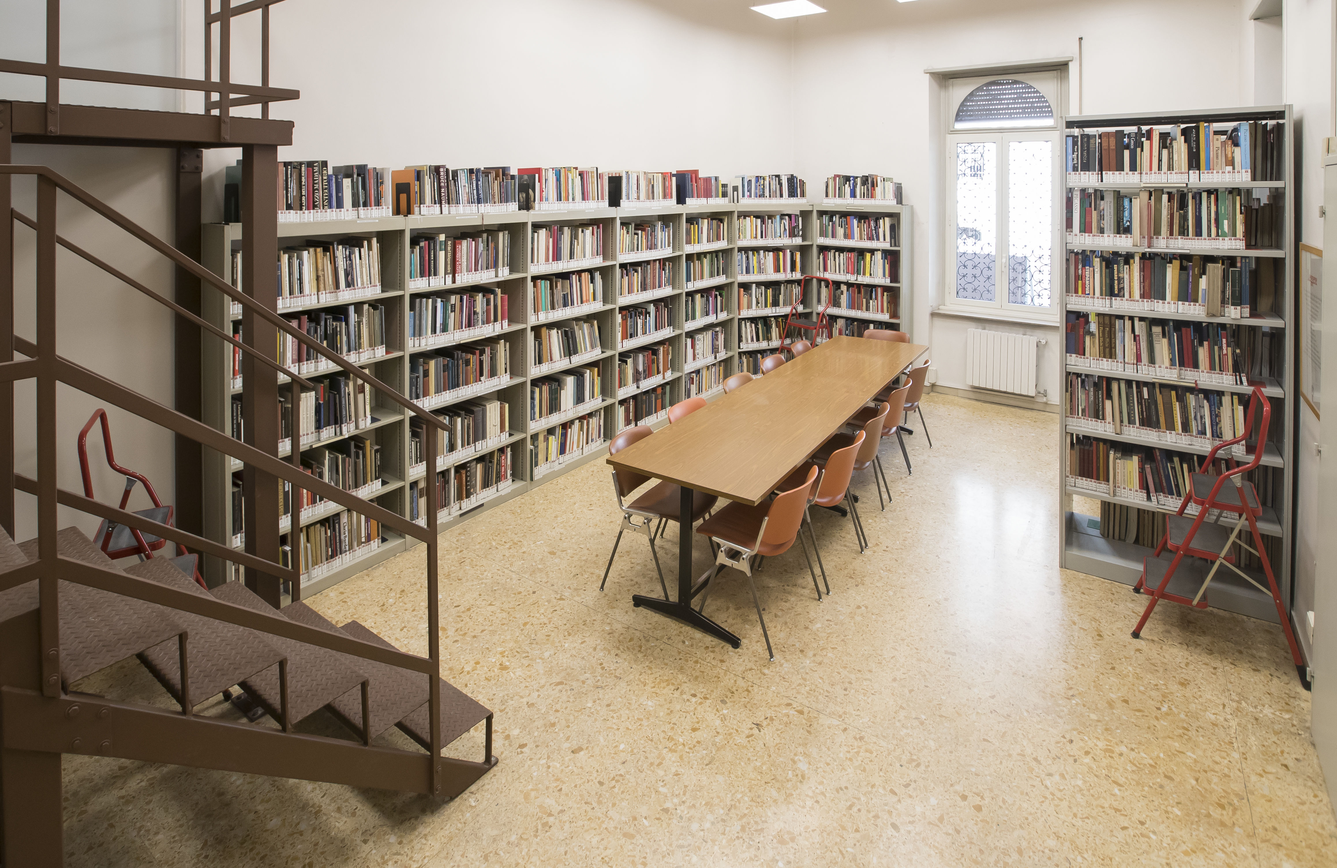 Temple Rome Library (back room)