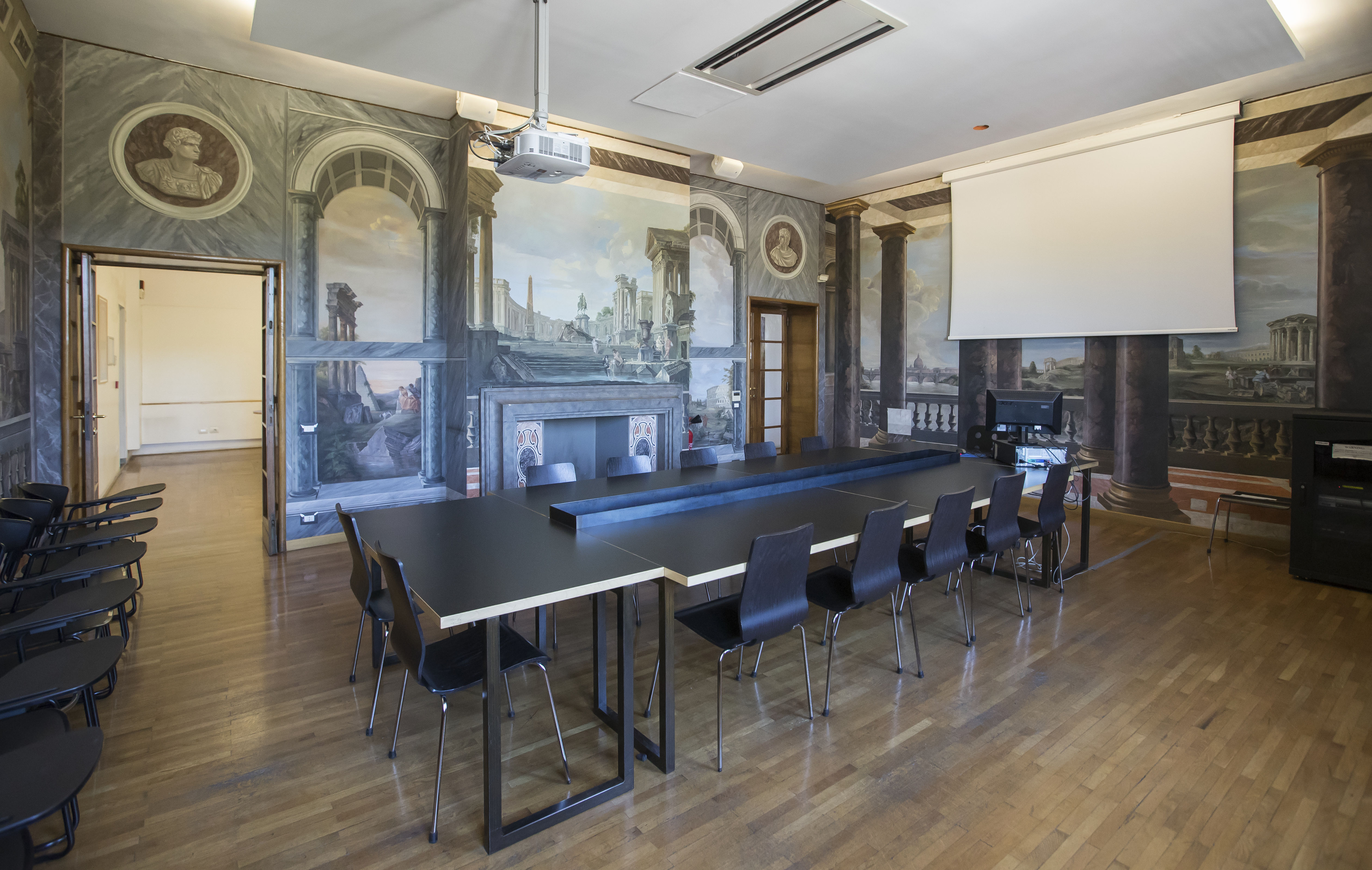 Temple Rome's Fresco Room