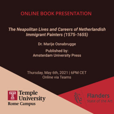 Online Book Presentation with Temple Rome and Flanders Italy