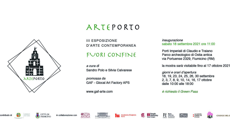 Invite for Arteporto, September 18 at Via Portuense 2329, Fiumicino